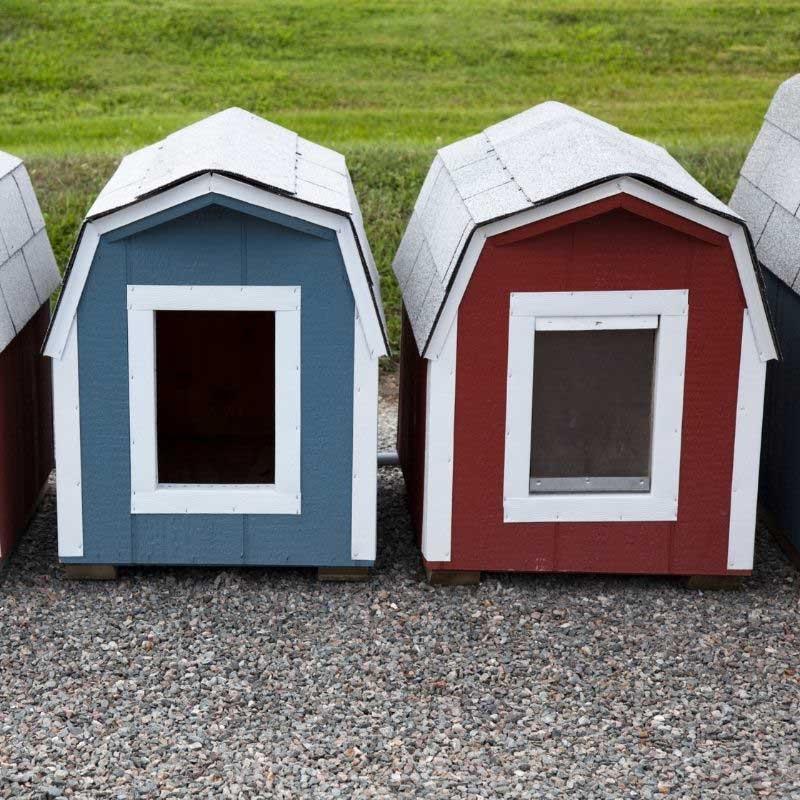 kućica za pse od platna